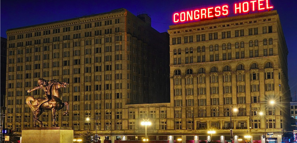Congress Hotel, Chicago