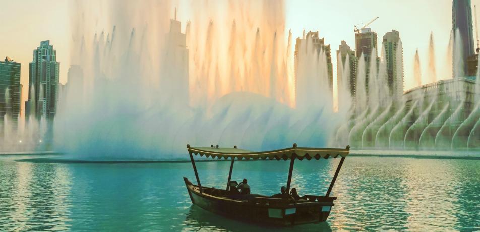 Dubai waterfront promenade