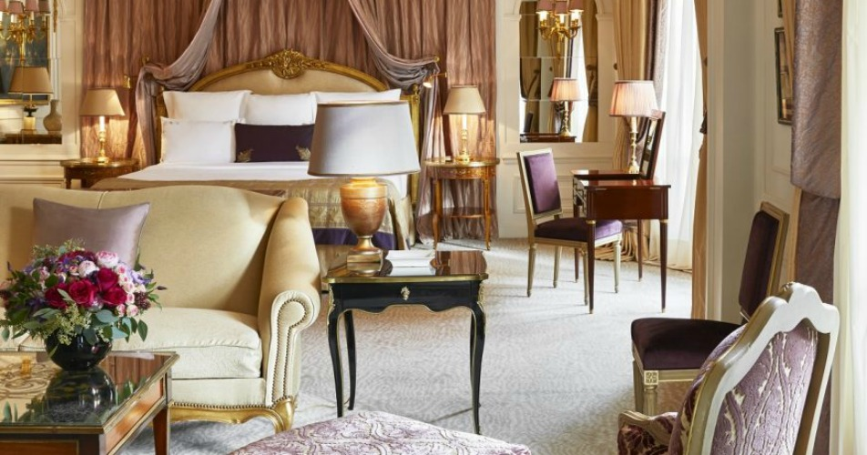 Royal Suite at Hotel Plaza Athenee Paris