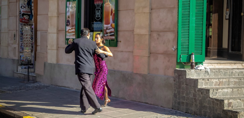 Tangoing in Argentina