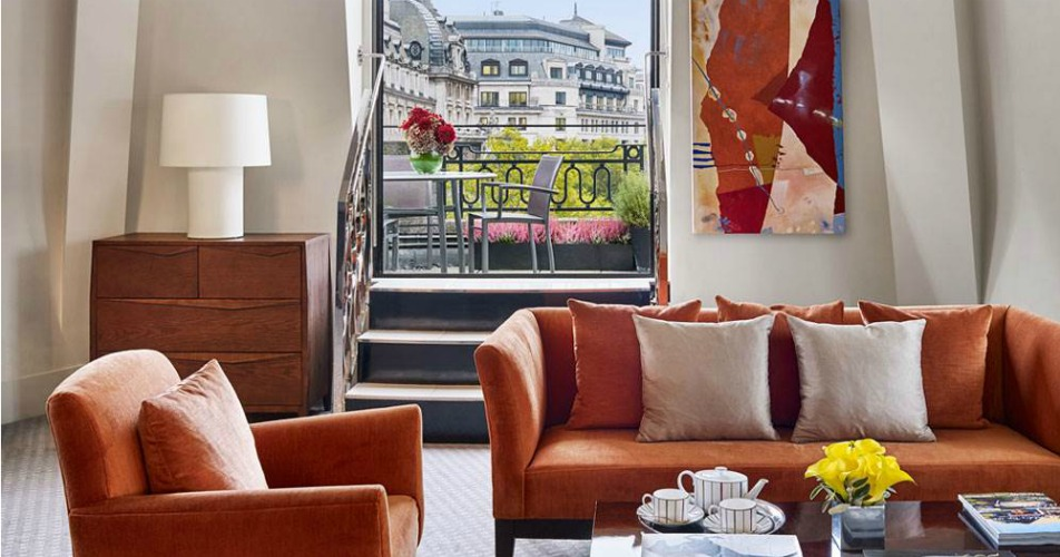 One Aldwych terrace suite