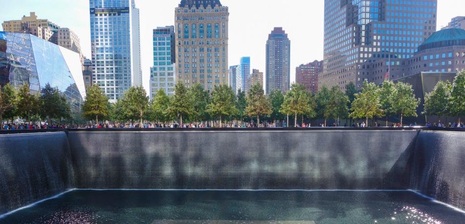 9/11 Memorial in NYC