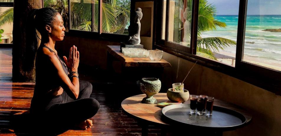Yoga at Amansala Resort