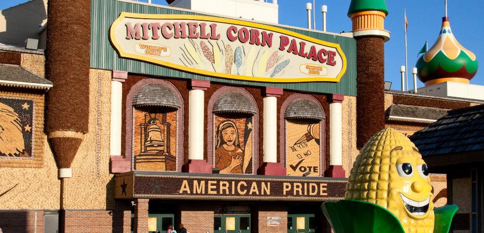 Corn Palace in South Dakota