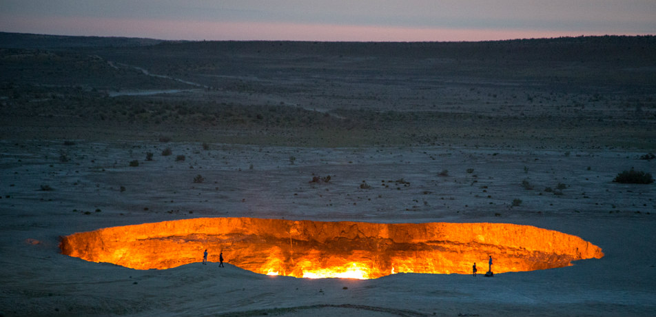 Darvaza Door to Hell, Turkmenistan