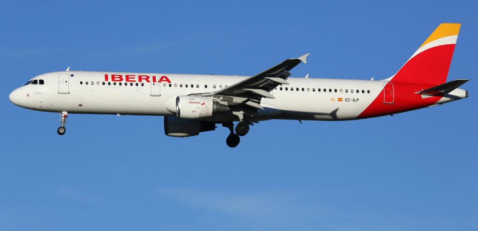 Iberia airplane