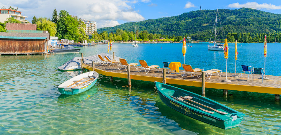 Lake Woerthersee, Austria