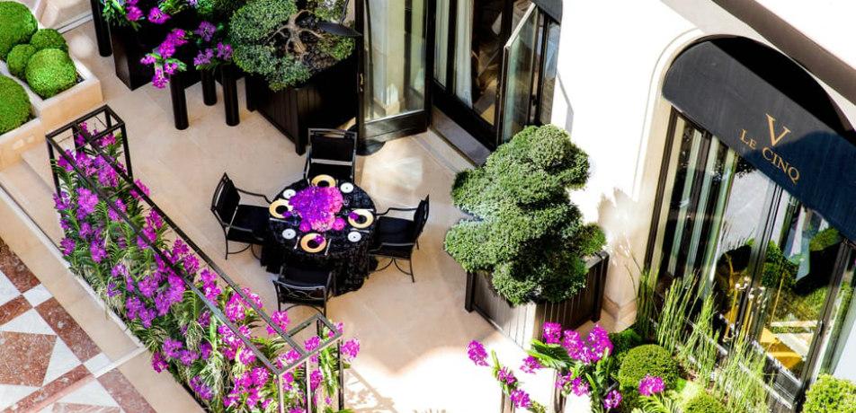 Le Cinq at the Four Seasons Paris