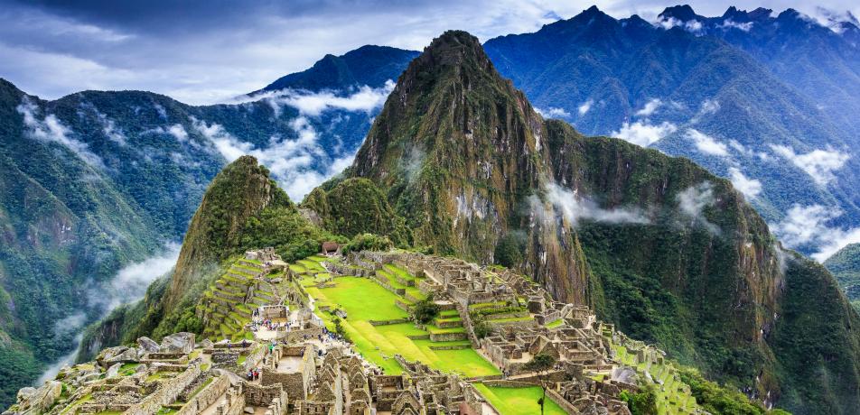 Machi Picchu in Peru