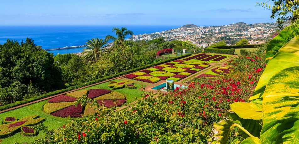 Monte Palace Tropical Gardens in Madeira, Portugal