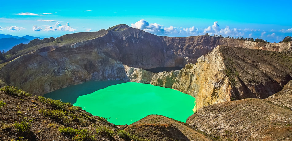 Mt. Kelimutu, Indonesia
