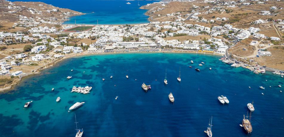 Ornos Bay, Mykonos