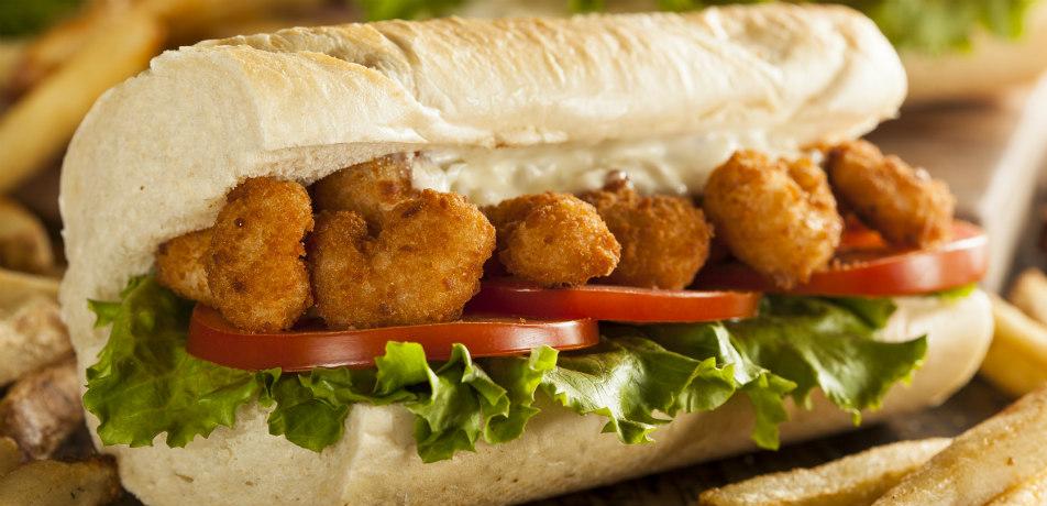 'Po Boy sandwich