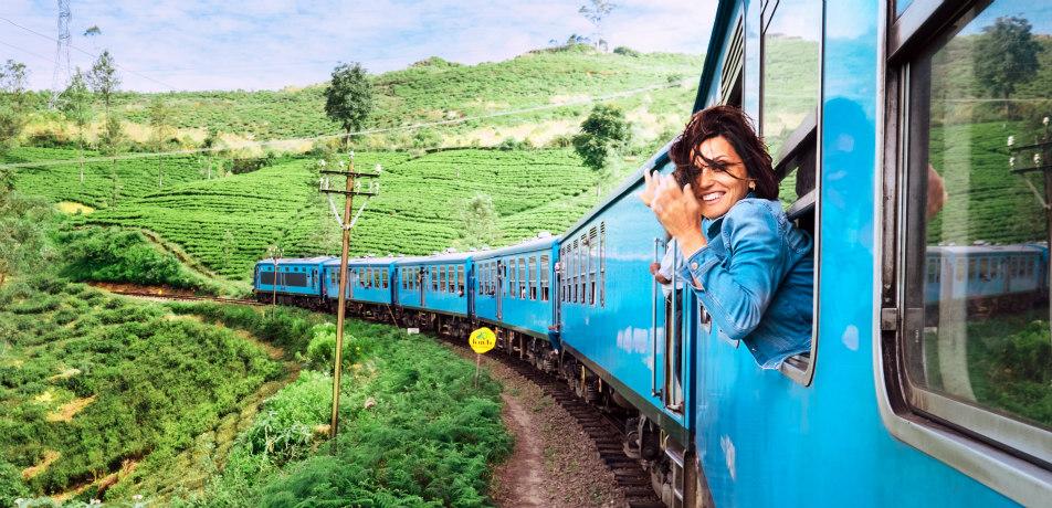 Scenic train route