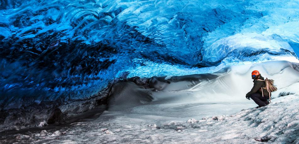 Skaftafell Cave, Iceland