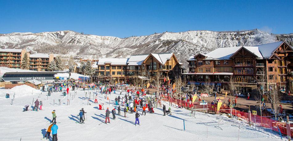 Snowmass base camp