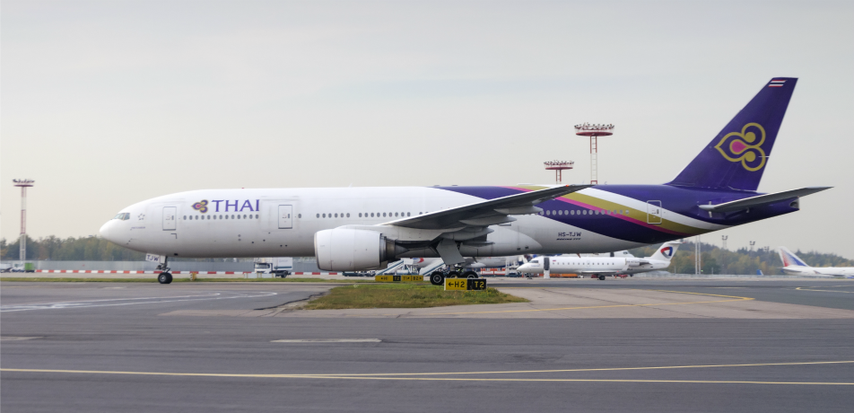 Thai Airways plane
