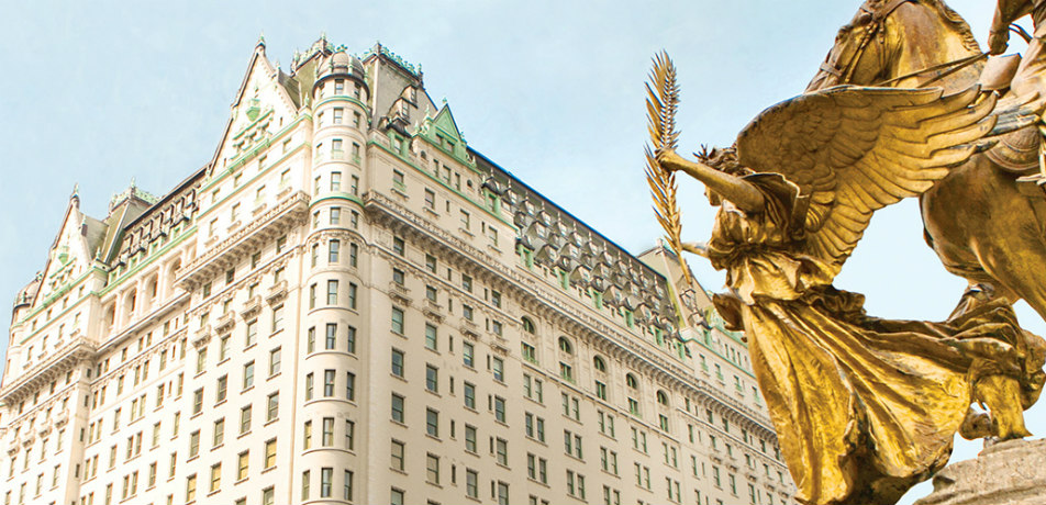 The Plaza Hotel NYC exterior