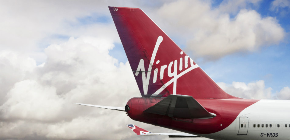 Virgin Atlantic Airways tailfin