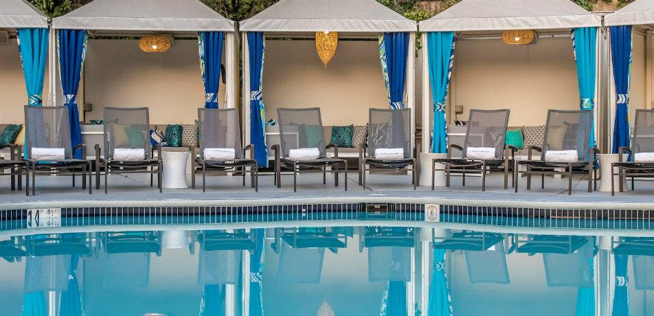Pool at W Hotel Los Angeles- Westwood