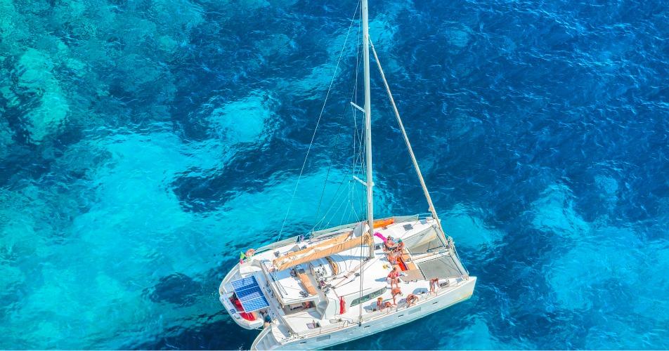 Yacht in Capri