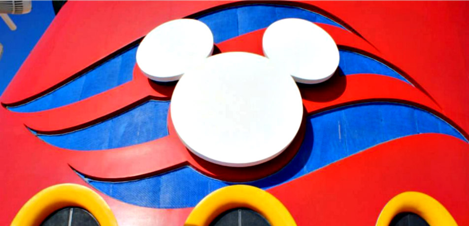 Disney Cruise Line logo on Disney Magic