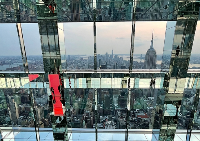 Empire State Building as seen at Air at SUMMIT One Vanderbilt