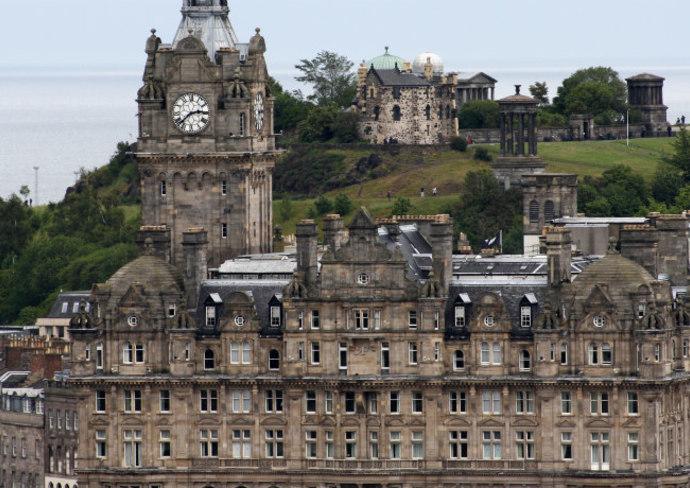 The Balmoral Hotel in Edinburgh