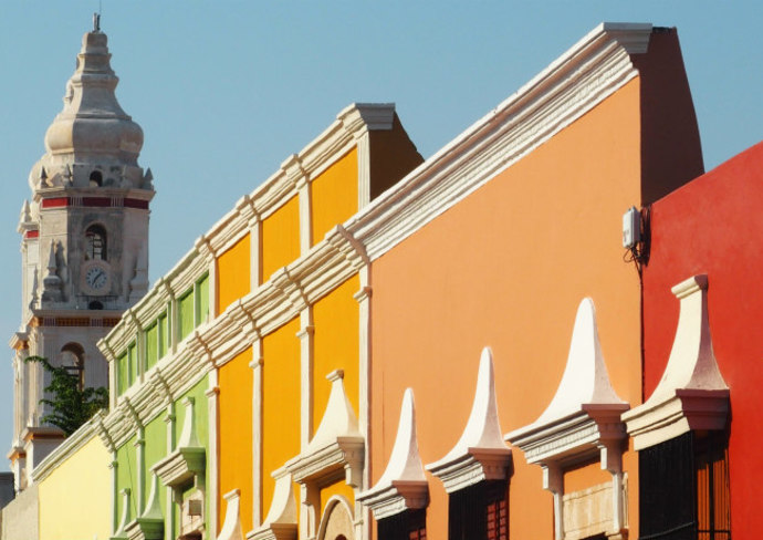 Campeche Old Town, Mexico