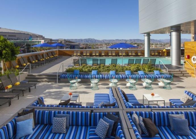 Kimpton Hotel Palomar, Phoenix: Lustre Rooftop Lounge