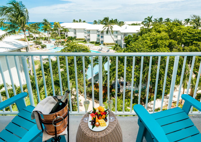 Balcony partial ocean view room, Margaritaville Beach Resort Grand Cayman