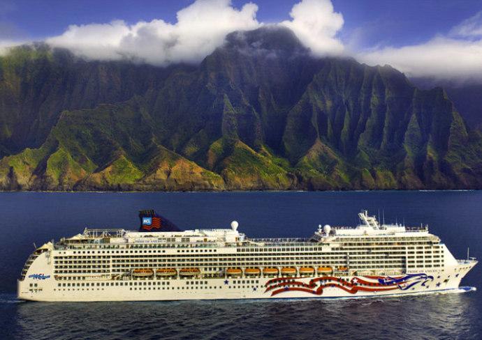 Pride of America, Na Pali Coast, Hawaii