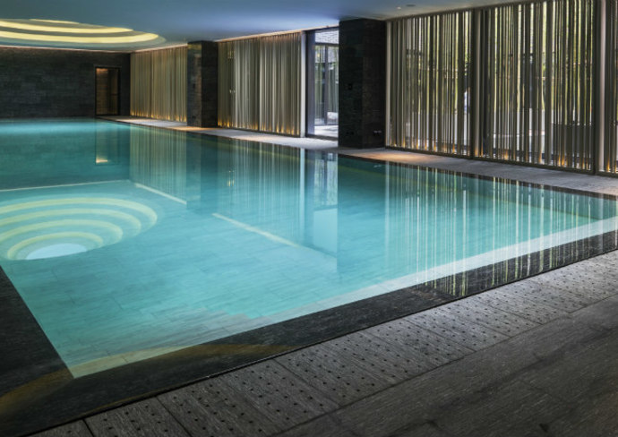 The Temple House indoor pool