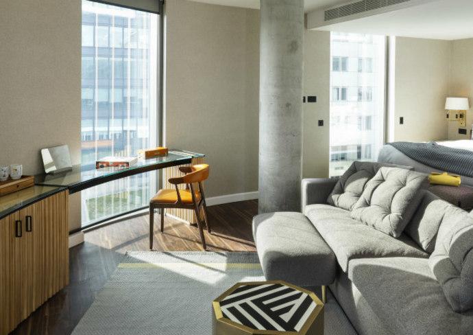 Biggest Suite, Bankside Hotel, London