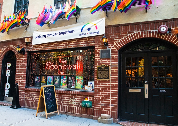 Historic Stonewall Inn in the West Village