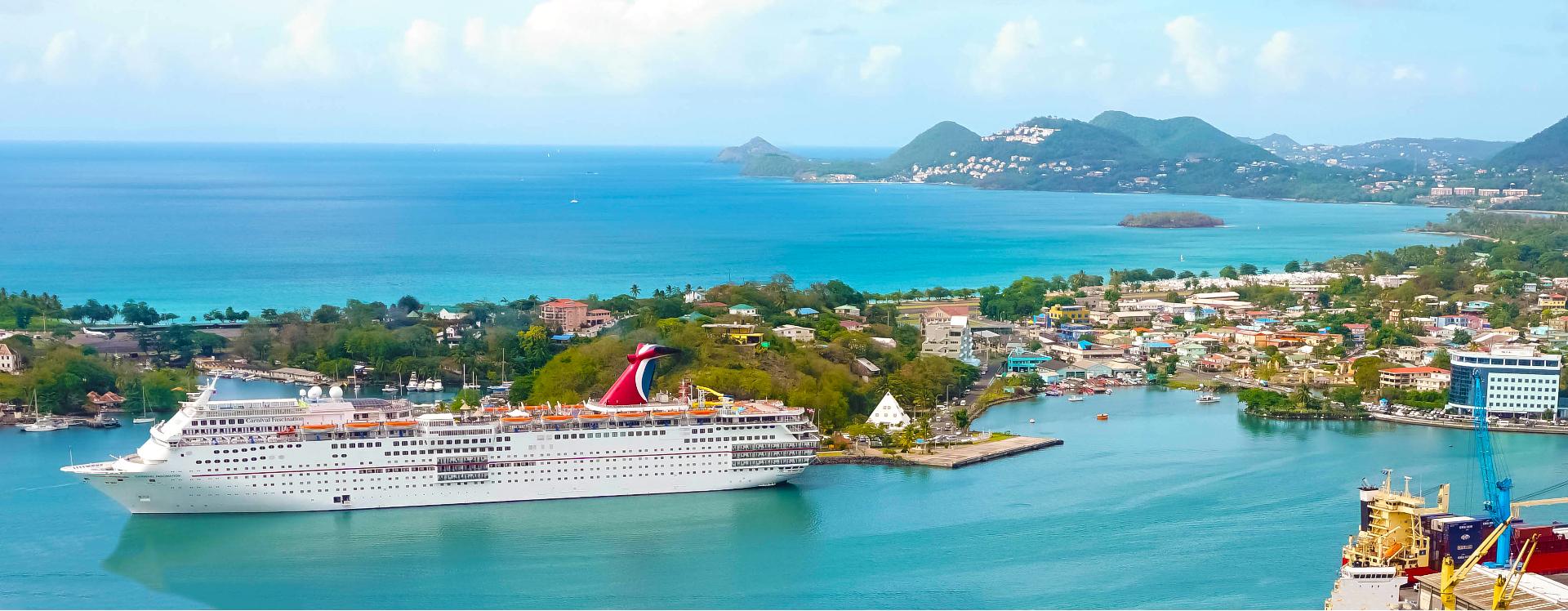 Carnival Cruises, Saint Lucia