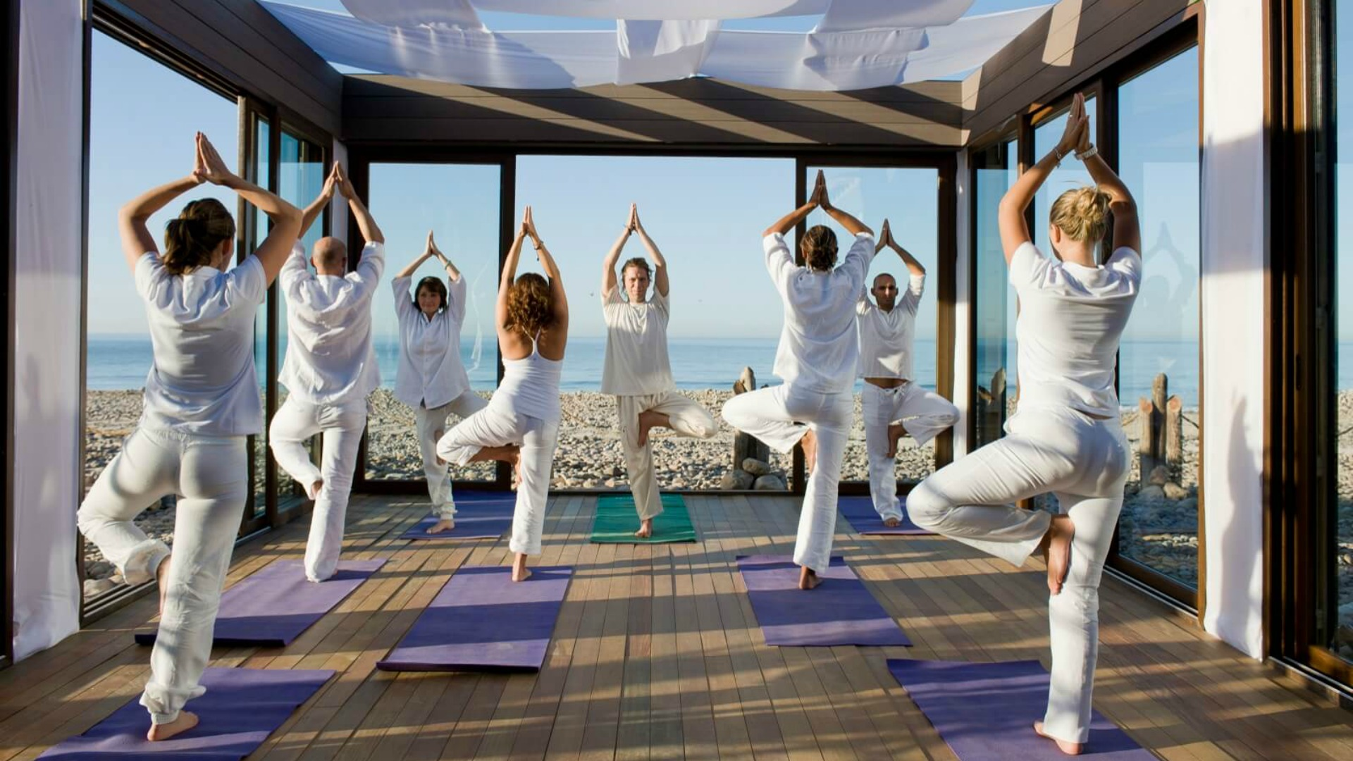 12 Beautiful Yoga Retreats Around the World at Any