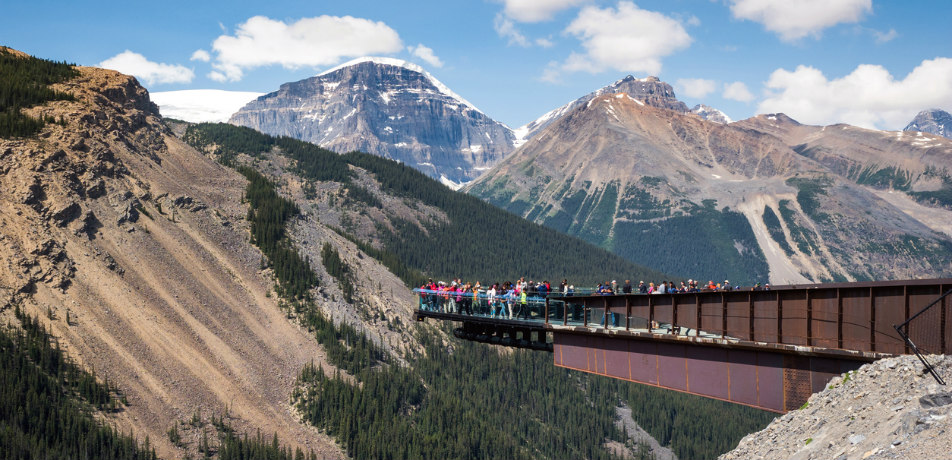 Glacier Skywalk in Alberta, Canada