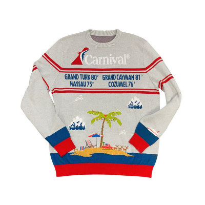 Carnival Cruise Line Ugly Cruisemas Sweater