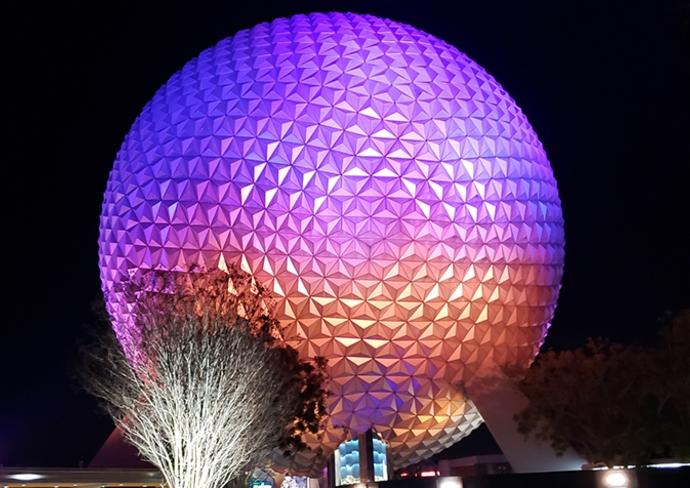 Spaceship Earth at Walt Disney World's Epcot