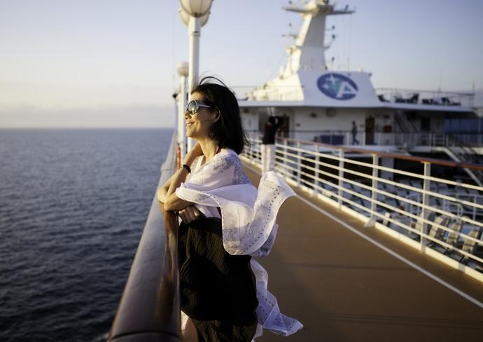 Fresh Air Helps Prevent Seasickness