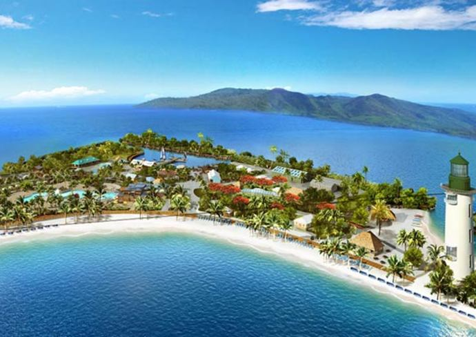 Rendering of Harvest Caye