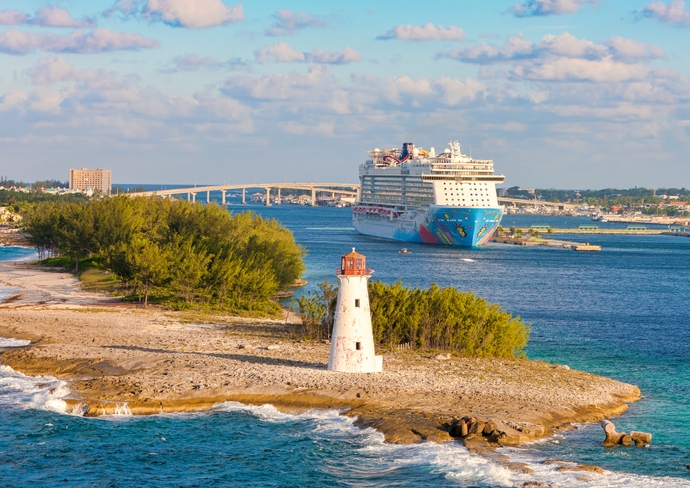 Norwegian Breakaway in Nassau