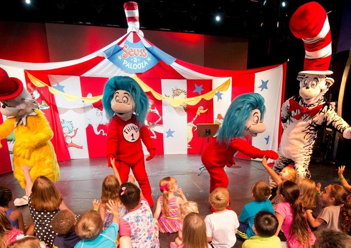 Carnival Freedom's Seuss-a-palooza Story Time