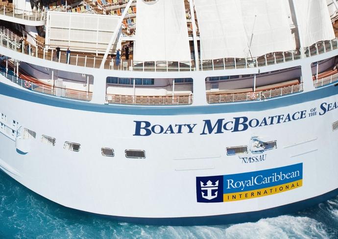 Boaty McBoatface of the Seas