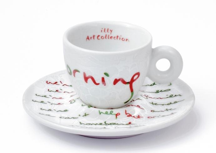 Alanis Morisette's Illy Art Collection espresso set