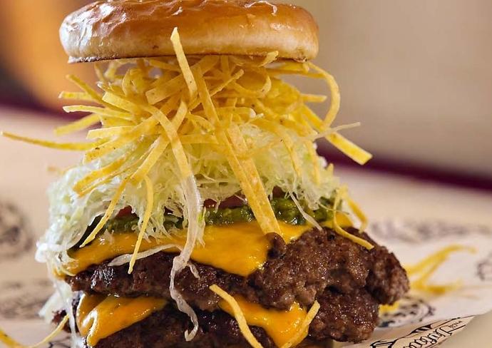 The Big Tex Burger