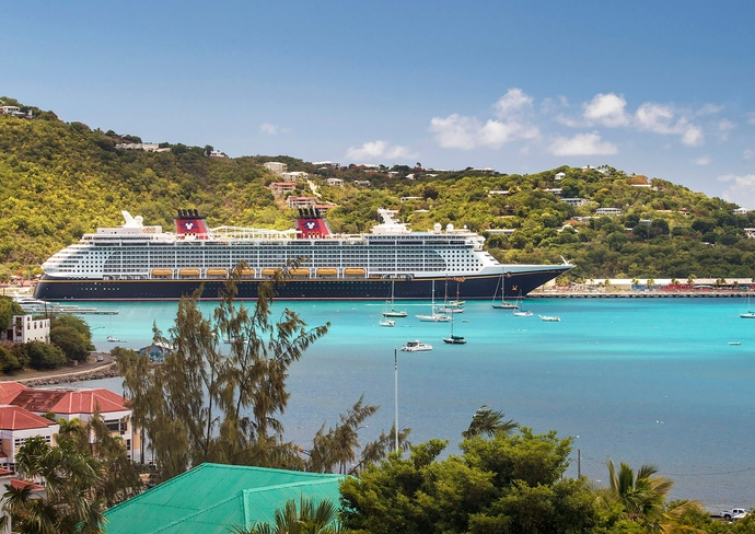 Disney Fantasy in Tortola