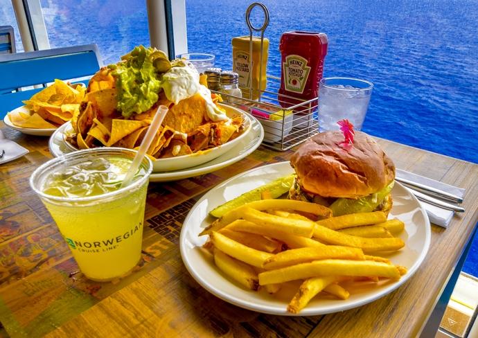 Cheeseburger in Paradise at Margaritiville at Sea