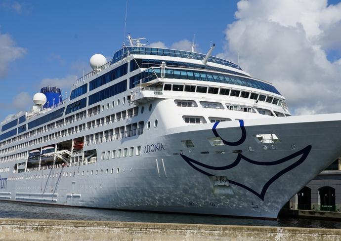 Fathom Adonia docked in Havana